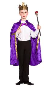 deluxe nativity king robe crown fancy dress