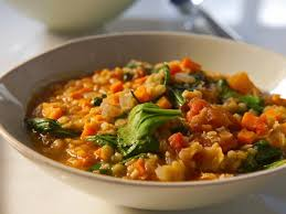 red lentil and vegetable soup recipes cooking channel recipe