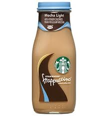 mocha frappuccino light calories starbucks bottled mocha light frappuccino coffee drink starbucks