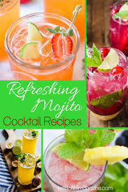 cocktail recipes mojito cocktail recipes refreshing drinks with rum the best of