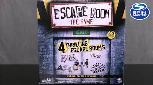 escape room the game from spin master youtube