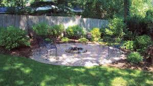 Backyard Fire Pit Landscaping Ideas by Exterior Landscaping Ideas Small Front Yard Landscaping Small