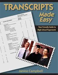 homeschool transcript templates a2z homeschooling