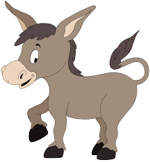 donkey clipart 1938 print clip art picture clipartme
