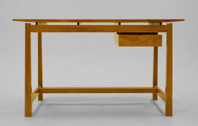 built by dornob a single board solid wood desk design