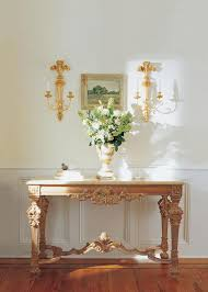 Valencia Console Table Home Entrance Decor Featuring Louis Xiv Style Carved Wood Console