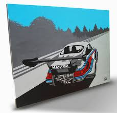 martini painting porsche 911 rsr martini painting