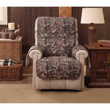 slipcover for recliner chair mossy oak up infinity recliner wing chair protector walmart com