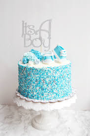 baby shower boy cakes a boy baby shower how to dye your own sprinkles the busy spatula