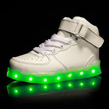 sneakers that light up on the bottom usb charge genuine leather led shoes men women sneaker shoes light
