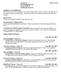 college student resume format sle resume format for college students student sle resume