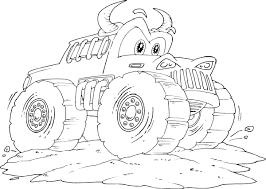 monster trucks coloring sheet u2014 marifarthing blog monster truck