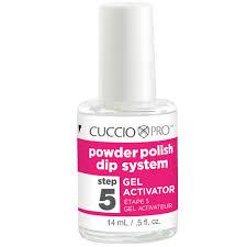 cuccio pro powder polish dip system step 2 4 nail base u0026 top