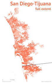 Nogales Mexico Map by Mexico U0027s Urban Pileups U2013 Sasha Trubetskoy