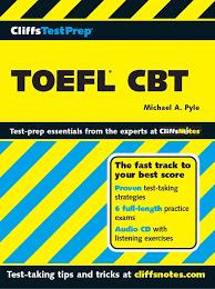cliffs toefl book