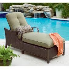 Lazy Boy Wicker Patio Furniture - la z boy wicker chaise lounge great outdoor ideas at sears