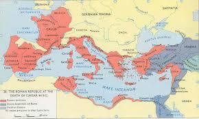 Roman World Map by History Of Ancient Rome Sutori