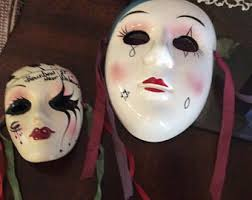 ceramic mardi gras masks diy masks mardi gras masks any pattern decorate yourself