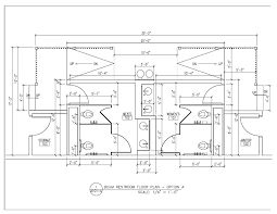 Cad Floor Plans by Ideas Ada Bathroom Layouts Restroom Cad Floor Plans Dwg Layout