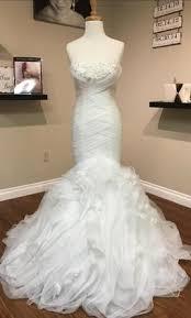 pebbles wedding dresses pronovias bayo 1 025 size 8 sle wedding dresses