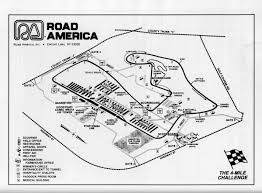 Road Atlanta Track Map by Imsa Gto Programme Covers Championships Racing Sports Cars