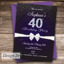 birthday invitation cards for adults ebay