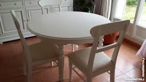 table ronde et chaises achetez table ronde 3 quasi neuf annonce vente à du