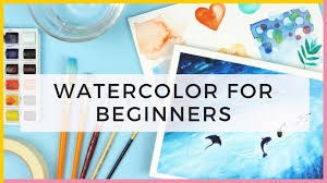 watercolor for beginners supplies u0026 watercolor techniques for
