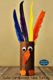 how to make a cardboard turkey craft