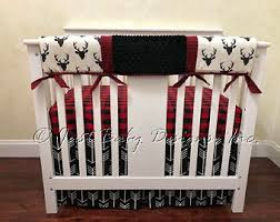 Mini Crib Bedding For Boy Mini Crib Bedding Etsy
