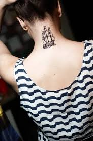 Tattoo Ideas For The Back Of Your Neck 50 Best Boat Tattoo Designs Tattoos Era