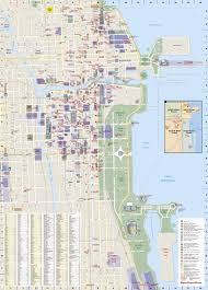 Chicago Transit Authority Map by Chicago National Geographic Destination City Map National