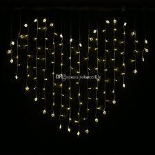 heart shaped christmas lights led novelty string lights heart shaped fairy curtain lights red