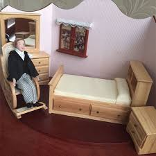 Dollhouse Bed For Girls by Compare Prices On Dollhouse Furniture Bedroom Online Shopping Buy