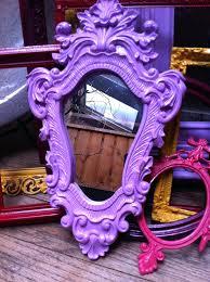 funky home decor online mirrored dresser diy purple mirror framed inspired mirrorless
