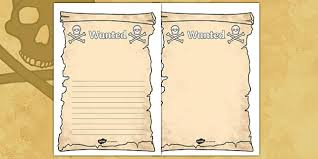 create your own pirate wanted display poster pirate pirates