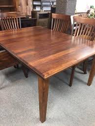solid maple dining table u2013 all wood furniture