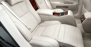 2007 lexus ls 460 luxury package ls 460 l shown in alabaster leather trim with available executive