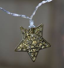 battery operated star lights battery operated 10 warm white led light chain gold metal filigree