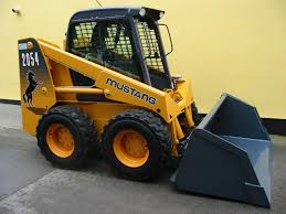 mustang bobcat machines skidsteer mcardle plant and parts buckets yard