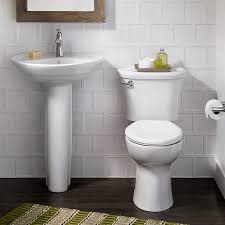 Bathroom Sinks With Pedestals Ravenna 24 Inch Pedestal Sink American Standard