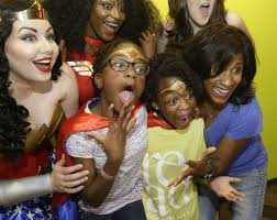 lexis florist houston tx wonder woman bowling party empowers girls houston chronicle