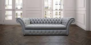 grey chesterfield sofa chesterfield cliveden 3 seater sofa settee buttoned seat silver grey