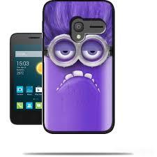 Conhecido Bad Minion Alcatel OneTouch Pixi 3 4.0 Case - Wallet Case @HU81
