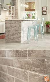 Brick Tile Backsplash Kitchen Kitchen Design Stunning Copper Backsplash Brick Look Tile