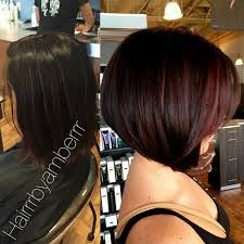inverted bob hairstyles 2015 my before after short inverted bob with red highlights