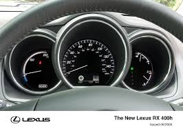lexus rx dashboard the lexus rx 400h lexus uk media site