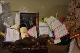 Bridal Shower Wine Basket Wine Themed Bridal Shower