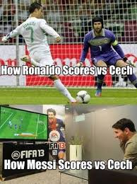 Funny Messi Memes - lionel messi v cristiano ronaldo the best memes from the internet