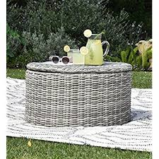 Outdoor Storage Coffee Table Decor Vallauris Outdoor Storage Coffee Table